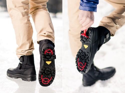 Anti-slip férfi téli csizma Walkmaxx