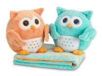 Dormeo HOO-HOO Hangulatbaglyocska pár takaróval