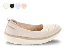 Walkmaxx Comfort kötött balerina cipő