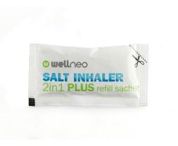 Salt Inhaler 2in1 Plus 2 az 1-ben Plus sóinhalátorhoz utántöltő csomag Wellneo