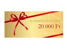 Ajándékutalvány - 20000 Ft