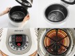 3D Air Fryer multifunkciós légkeveréses sütő Delimano