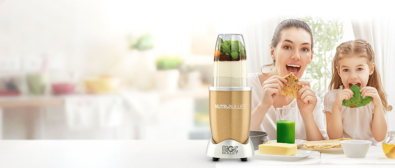 Nutribullet™ Gold ajándék palacsintasütővel
