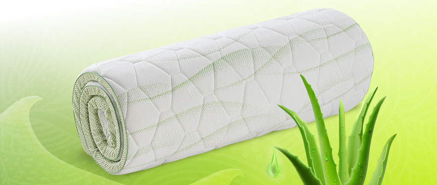 Új Aloe Vera Orthocell fedőmatracok