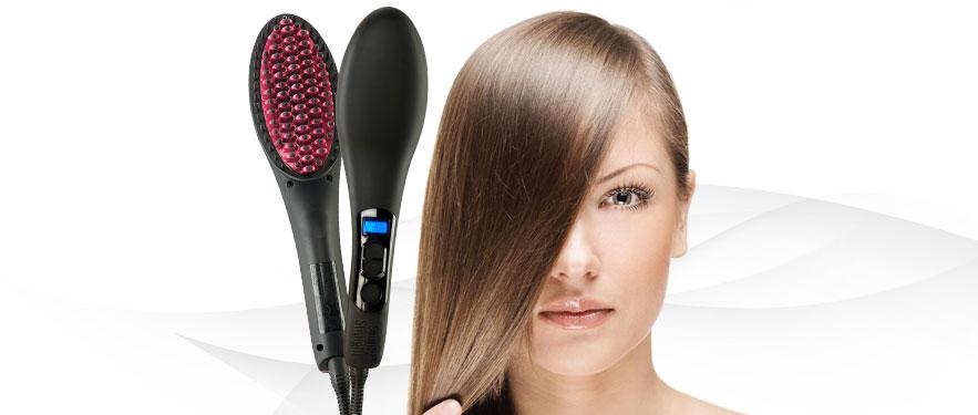 Puha és egyenes haj