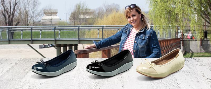 Comfort cipők Szulák Andrea ajánlásával