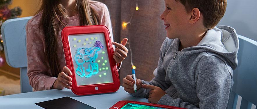 Top Shop Magic Pad világító rajztábla