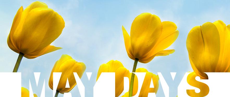 May Days - májusi kiárusítás