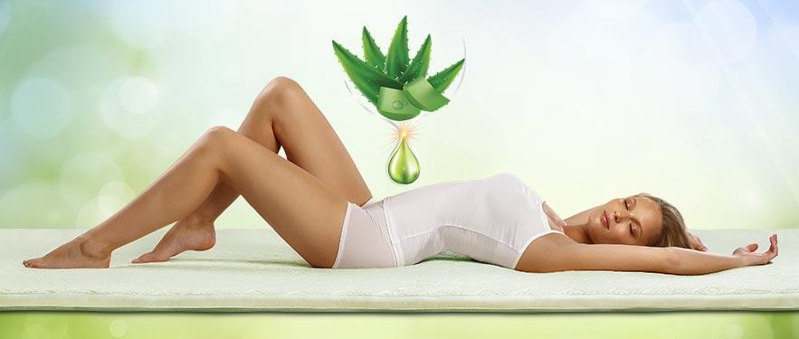Aloe Vera 3+1 fedőmatrac