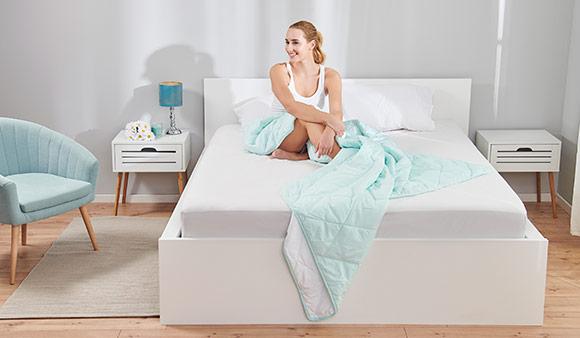 Dormeo Mamut fehér ágykeret