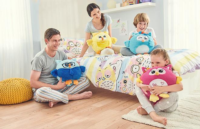 Dormeo hangulatbaglyocska család